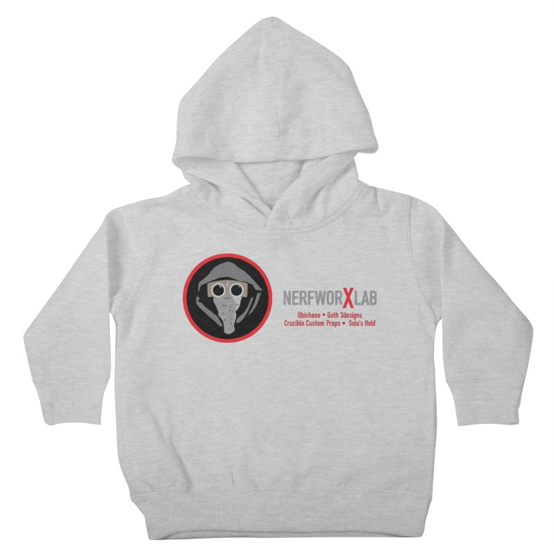 """NerfworXlab  """"Creators"""" Kids Toddler Pullover Hoody by SolosHold's Artist Shop"""