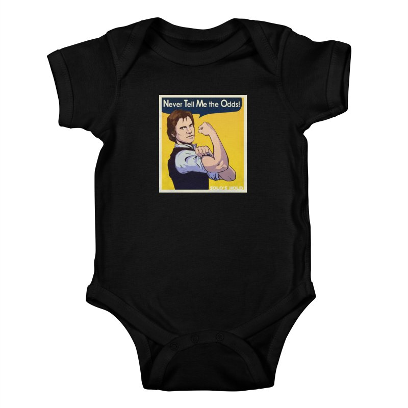 Never tell me the odds! Kids Baby Bodysuit by SolosHold's Artist Shop