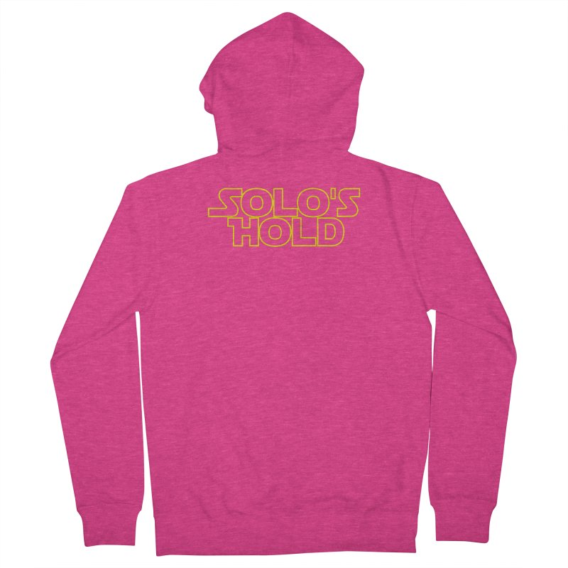 Solo's Hold Women's French Terry Zip-Up Hoody by SolosHold's Artist Shop