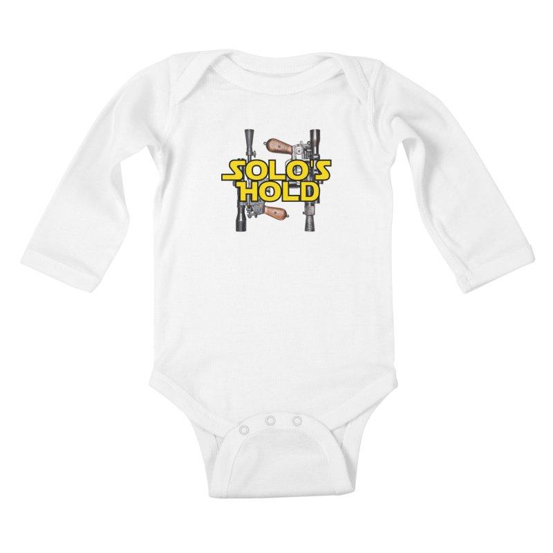 Blasters Kids Baby Longsleeve Bodysuit by SolosHold's Artist Shop