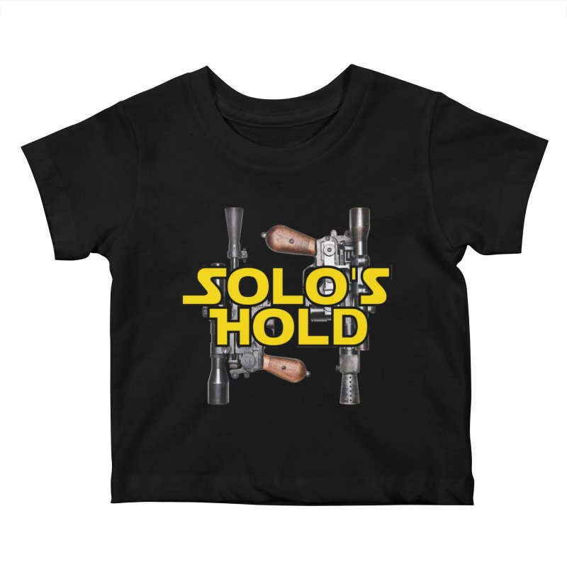 Blasters Kids Baby T-Shirt by SolosHold's Artist Shop