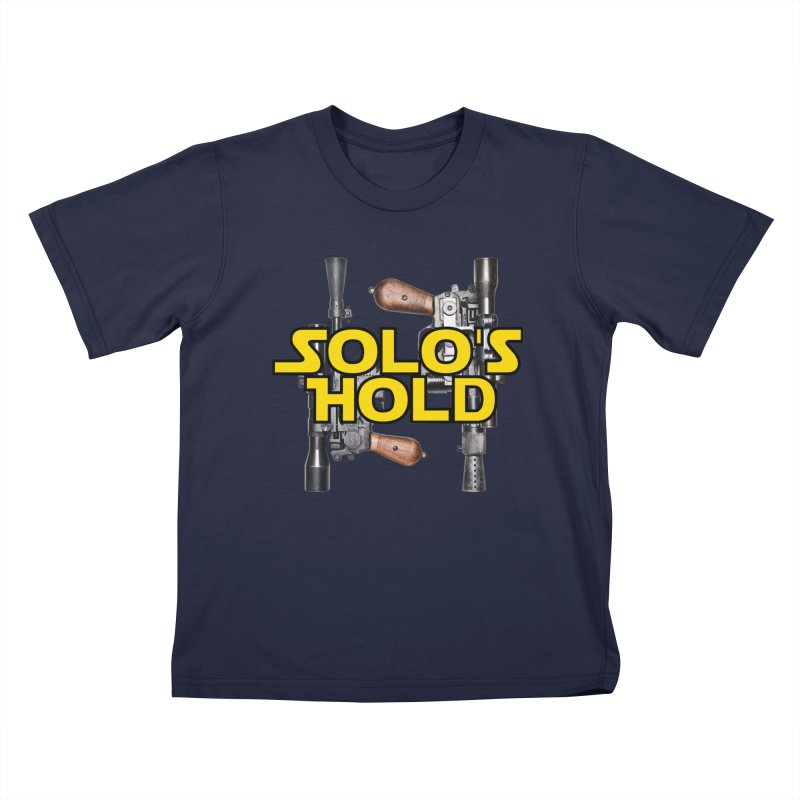 Blasters Kids T-Shirt by SolosHold's Artist Shop