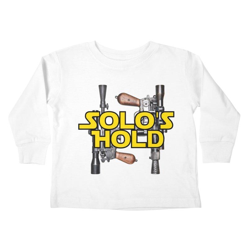 Blasters Kids Toddler Longsleeve T-Shirt by SolosHold's Artist Shop