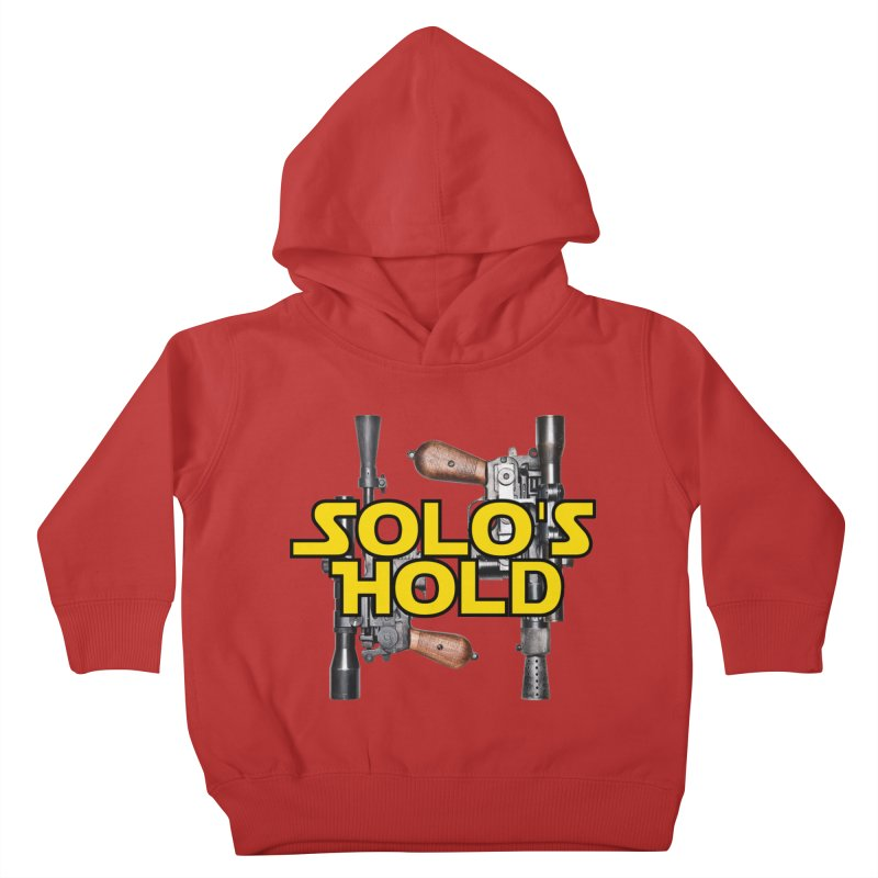 Blasters Kids Toddler Pullover Hoody by SolosHold's Artist Shop