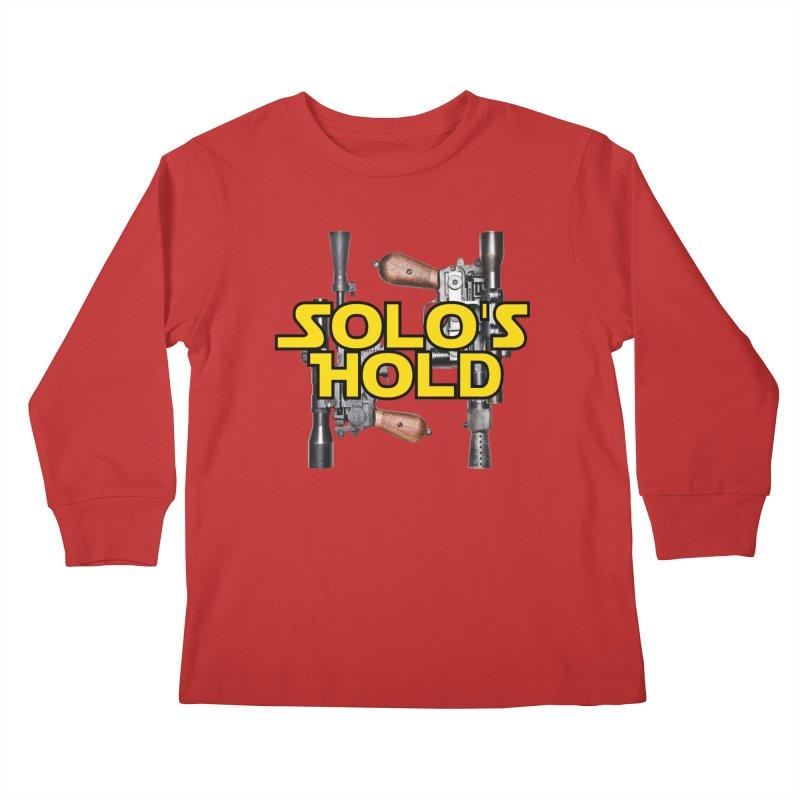 Blasters Kids Longsleeve T-Shirt by SolosHold's Artist Shop