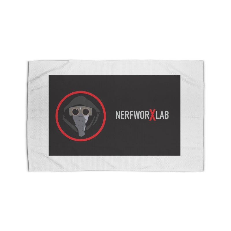 NerfworXlab Home Rug by SolosHold's Artist Shop