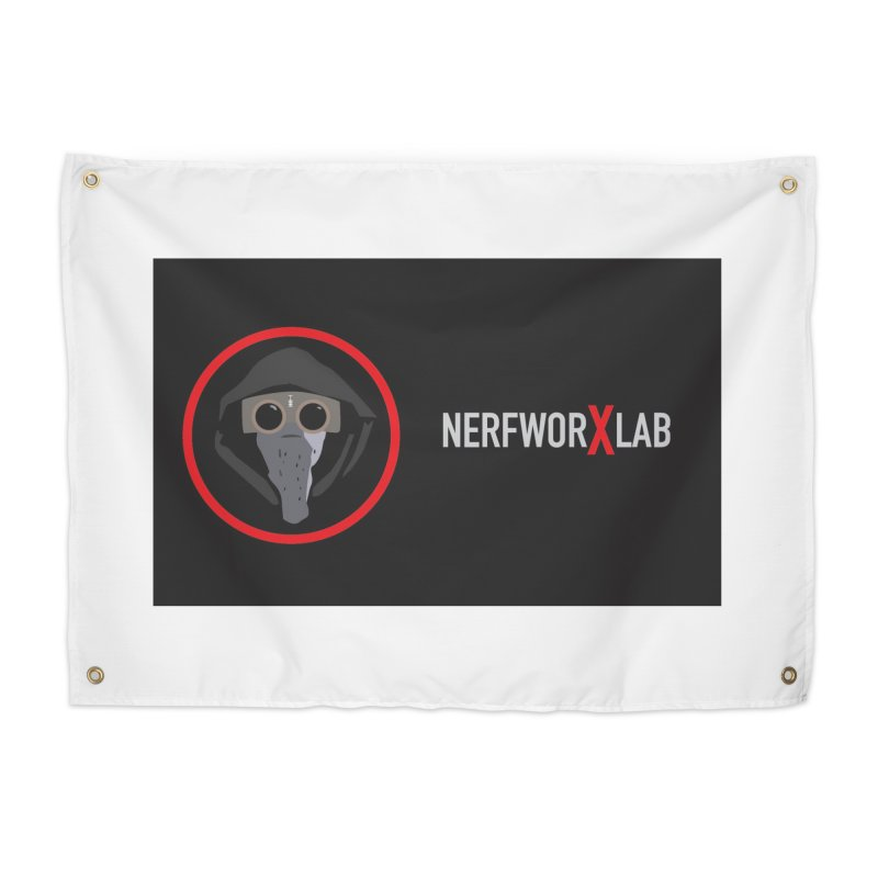 NerfworXlab Home Tapestry by SolosHold's Artist Shop