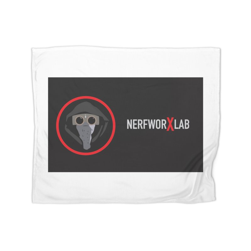 NerfworXlab Home Fleece Blanket Blanket by SolosHold's Artist Shop