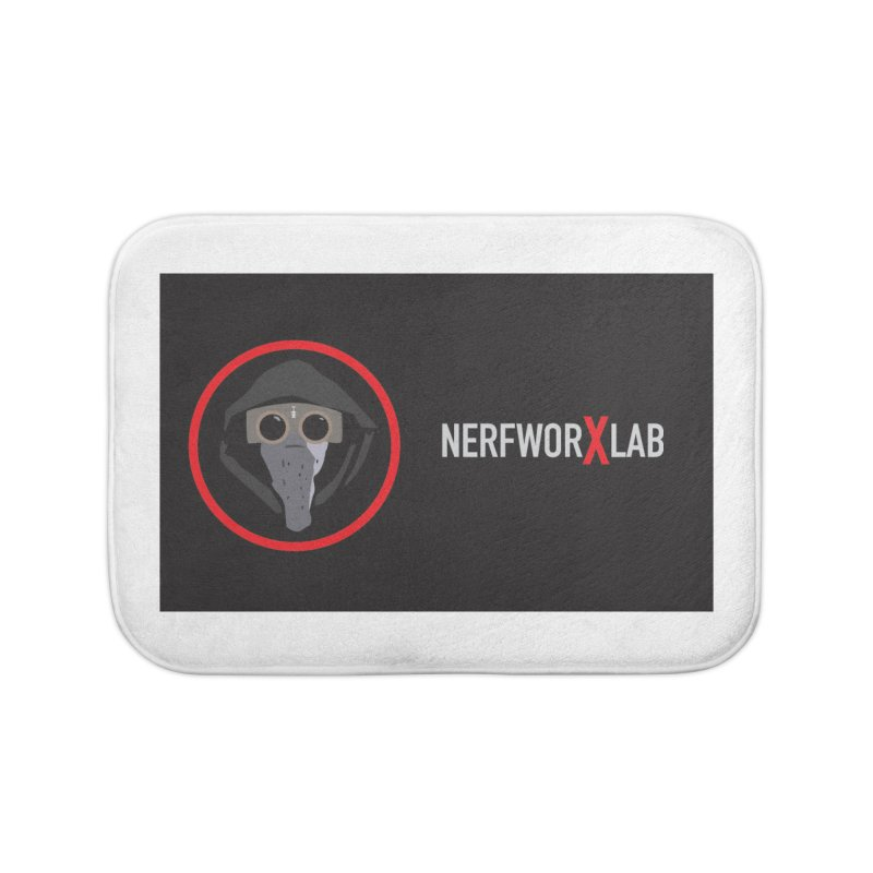 NerfworXlab Home Bath Mat by SolosHold's Artist Shop