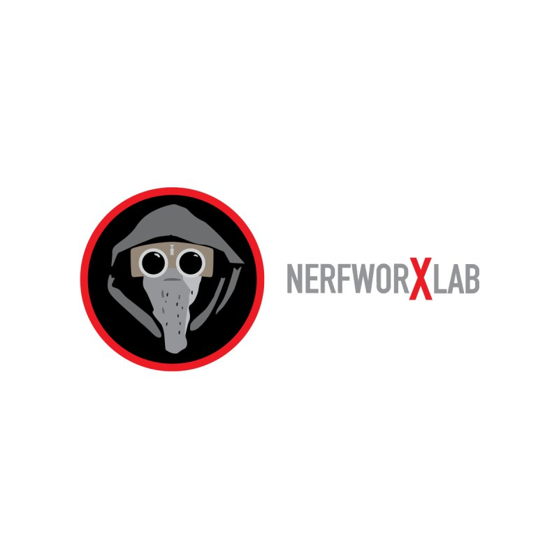 NerfworXlab Kids Toddler Zip-Up Hoody by SolosHold's Artist Shop