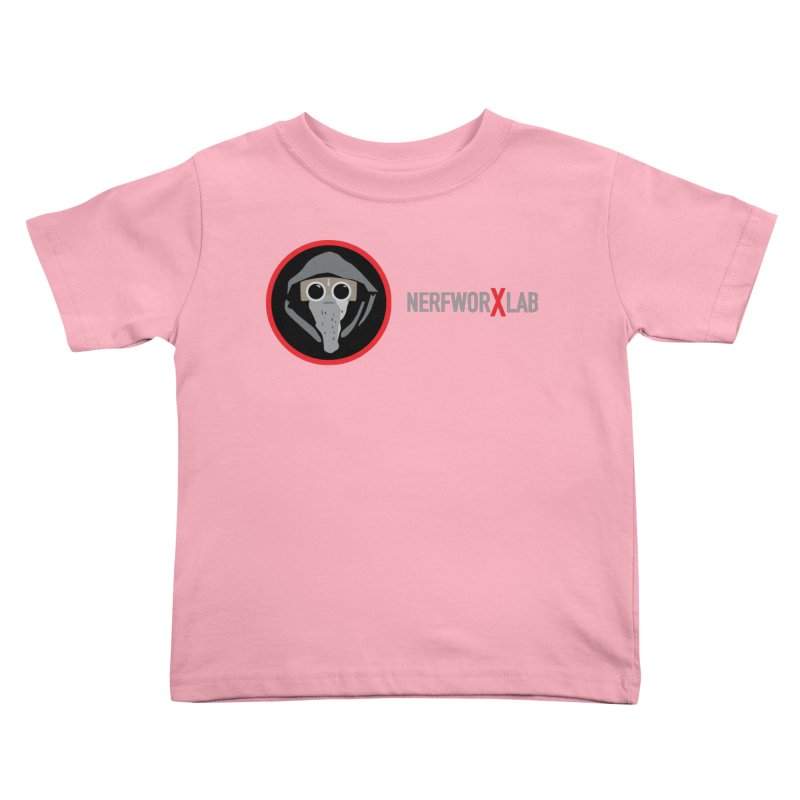 NerfworXlab Kids Toddler T-Shirt by SolosHold's Artist Shop
