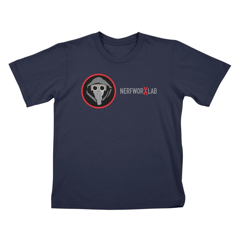 NerfworXlab Kids T-Shirt by SolosHold's Artist Shop