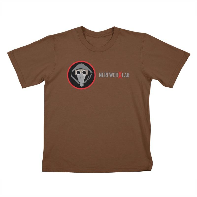 NerfworXlab Kids T-Shirt by SolosHold's Artist Shop