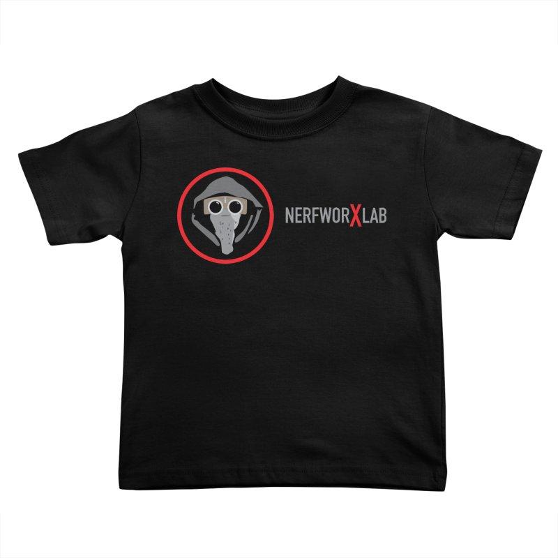 NerfworXlab Kids Toddler T-Shirt by SolosHold's Artist Shop