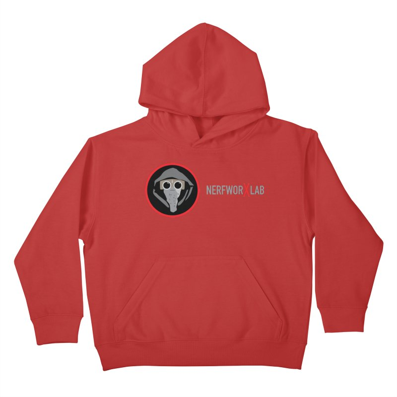NerfworXlab Kids Pullover Hoody by SolosHold's Artist Shop