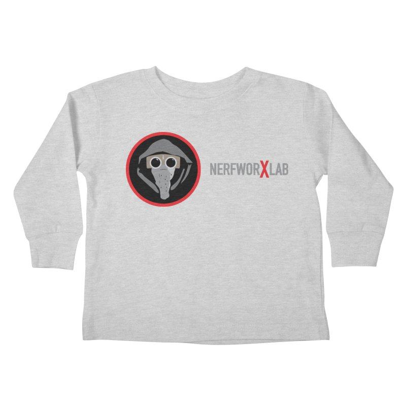 NerfworXlab Kids Toddler Longsleeve T-Shirt by SolosHold's Artist Shop