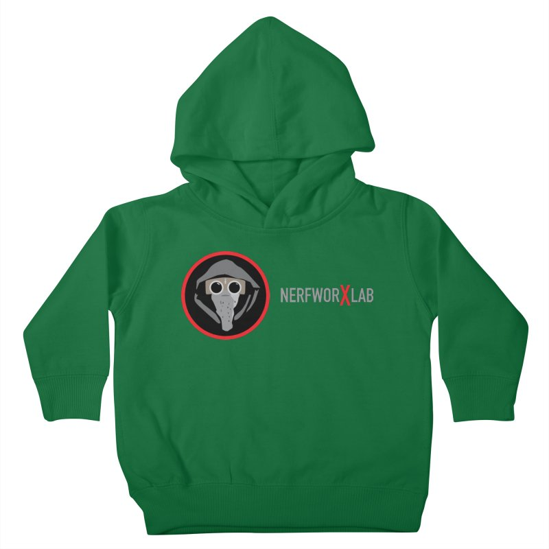 NerfworXlab Kids Toddler Pullover Hoody by SolosHold's Artist Shop