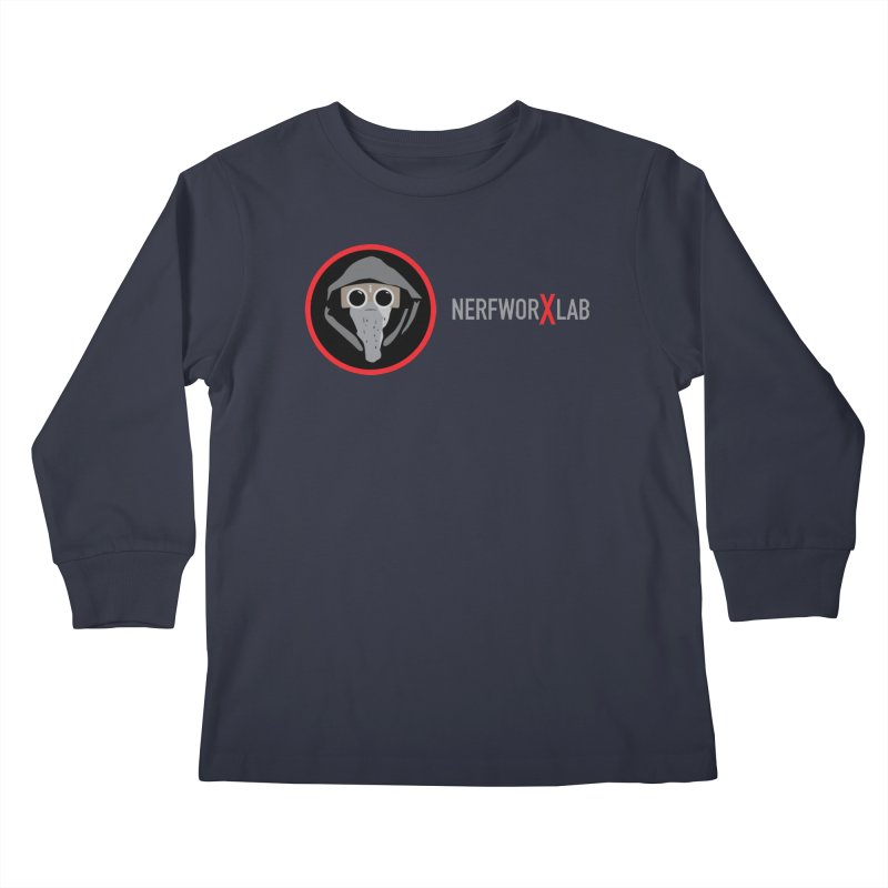 NerfworXlab Kids Longsleeve T-Shirt by SolosHold's Artist Shop