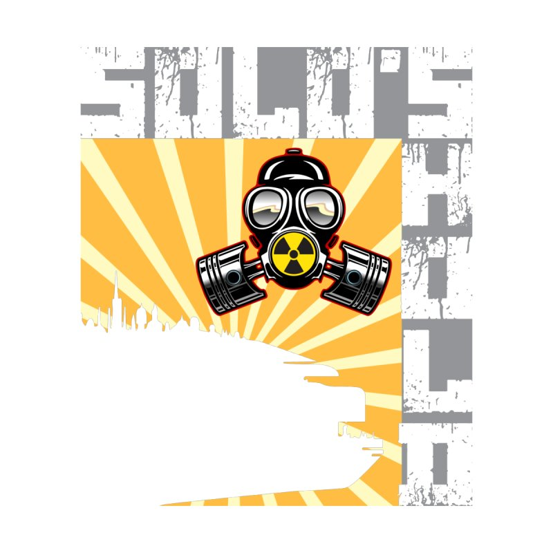 Radioactive Men's T-Shirt by SolosHold's Artist Shop