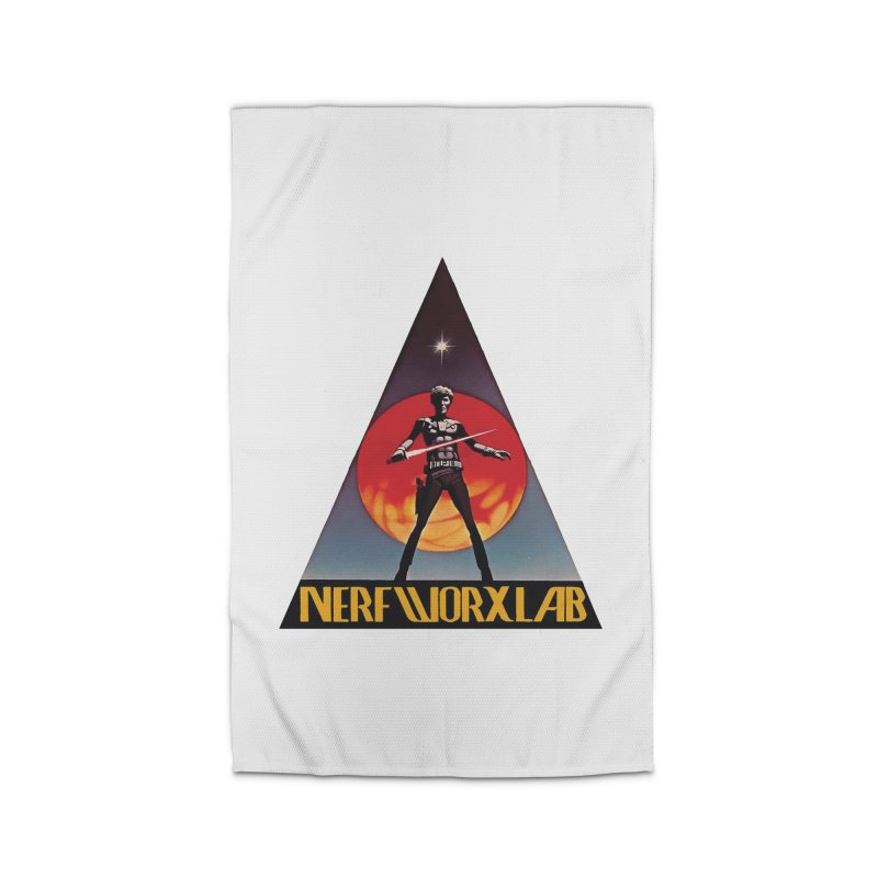 NERFWORXLAB VINTAGE Home Rug by SolosHold's Artist Shop