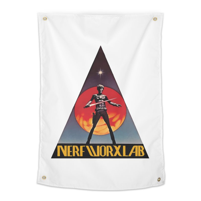 NERFWORXLAB VINTAGE Home Tapestry by SolosHold's Artist Shop