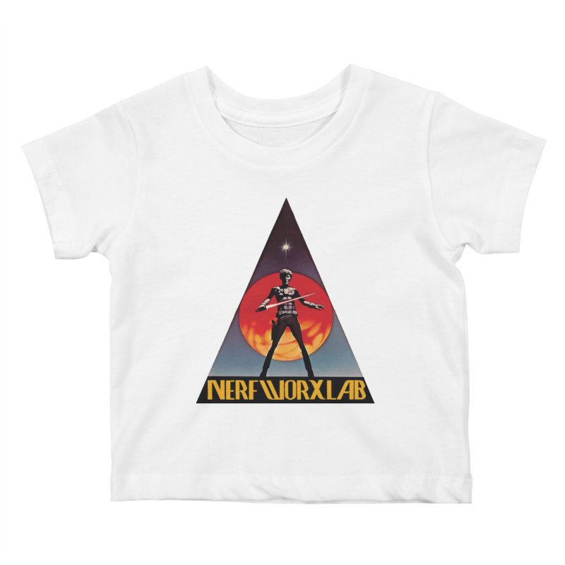 NERFWORXLAB VINTAGE Kids Baby T-Shirt by SolosHold's Artist Shop