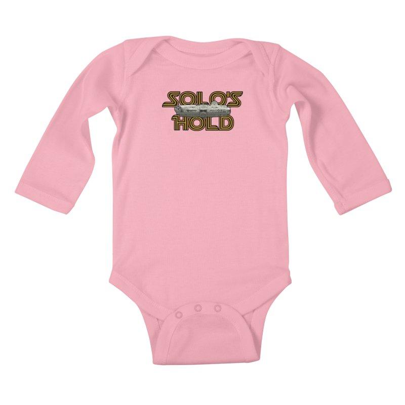 Aermacchi light bg Kids Baby Longsleeve Bodysuit by SolosHold's Artist Shop
