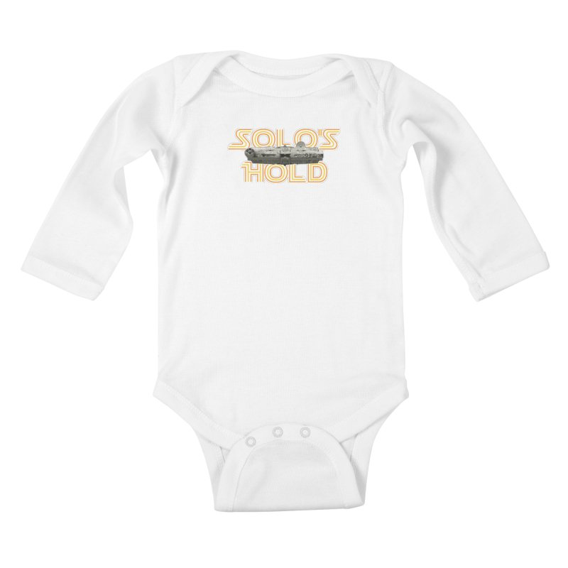 Aermacchi dark bg Kids Baby Longsleeve Bodysuit by SolosHold's Artist Shop