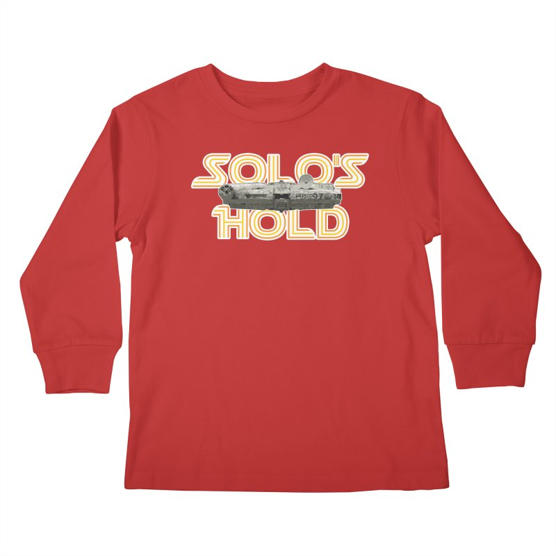 Aermacchi dark bg Kids Longsleeve T-Shirt by SolosHold's Artist Shop