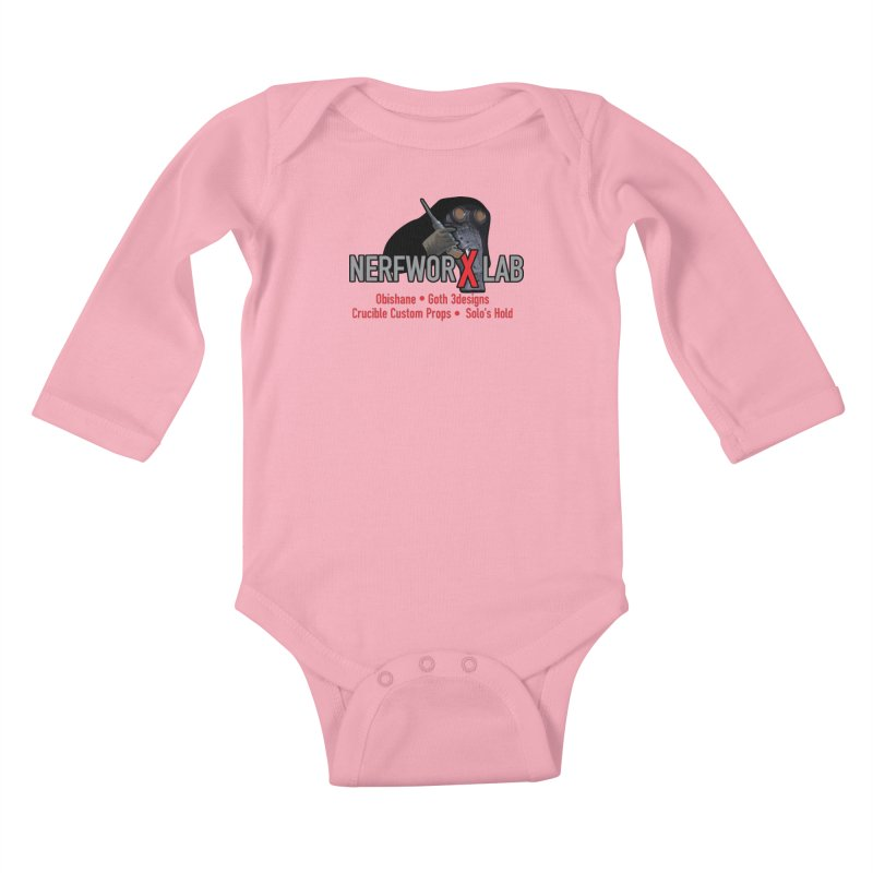 Garindan with names Kids Baby Longsleeve Bodysuit by SolosHold's Artist Shop
