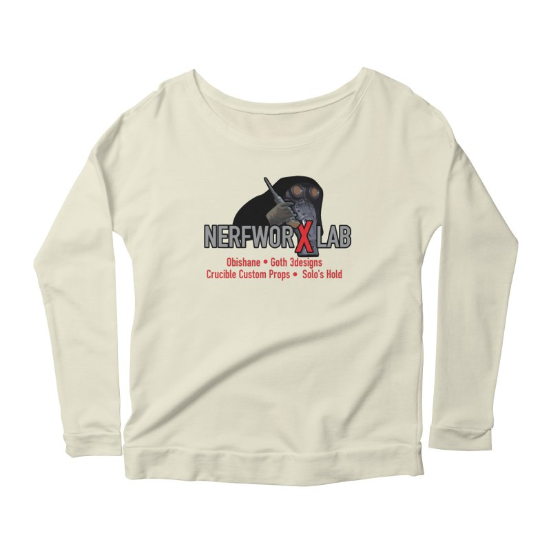 Garindan with names Women's Scoop Neck Longsleeve T-Shirt by SolosHold's Artist Shop