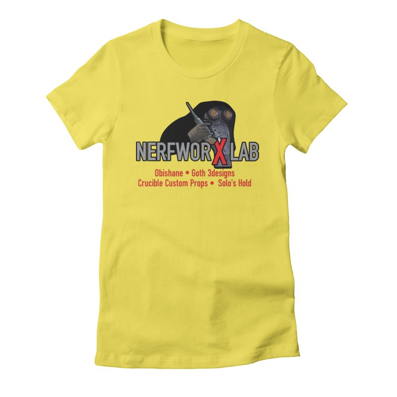 Garindan with names Women's Fitted T-Shirt by SolosHold's Artist Shop