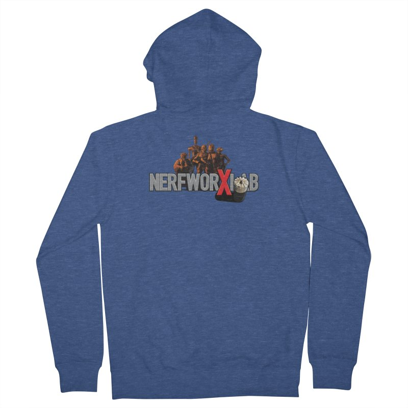 Getting the Band back together Men's French Terry Zip-Up Hoody by SolosHold's Artist Shop