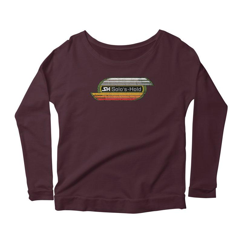 Vintage Aermacchi - Fuel Up! Women's Scoop Neck Longsleeve T-Shirt by SolosHold's Artist Shop