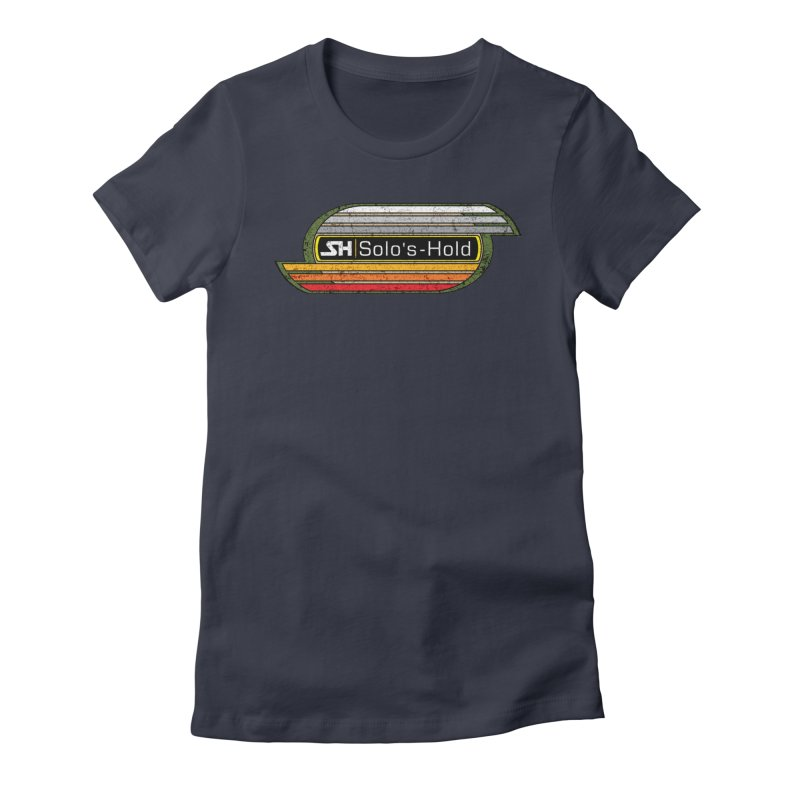 Vintage Aermacchi - Fuel Up! Women's Fitted T-Shirt by SolosHold's Artist Shop