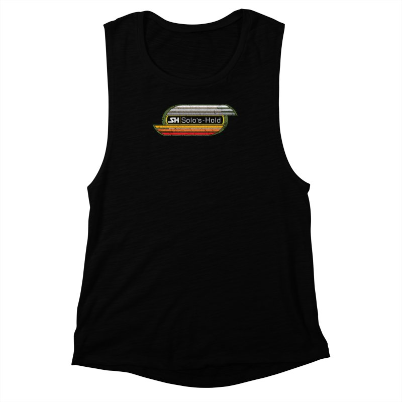 Vintage Aermacchi - Fuel Up! Women's Muscle Tank by SolosHold's Artist Shop