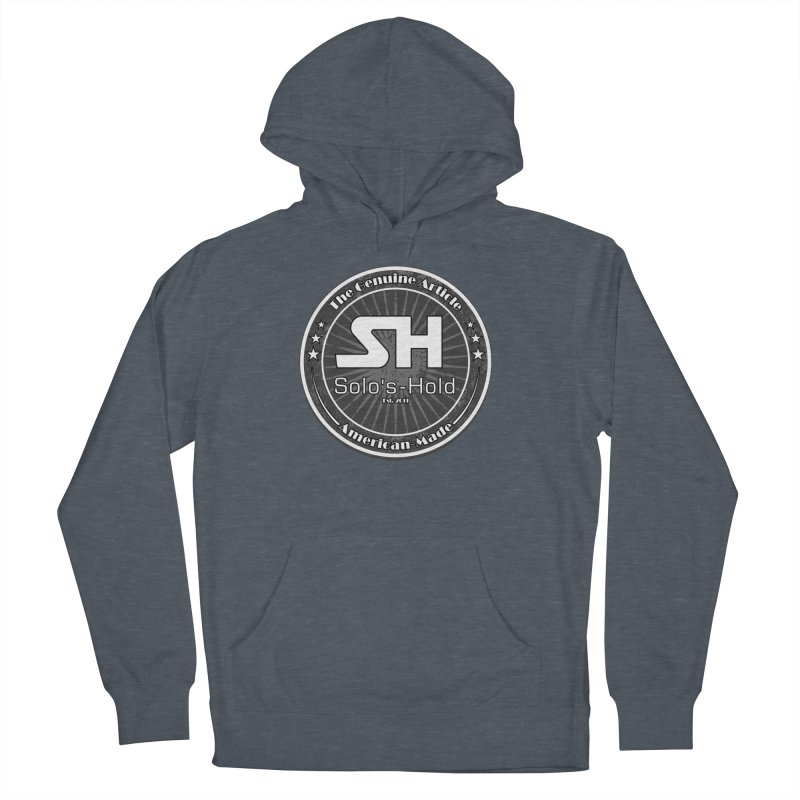American Made Women's French Terry Pullover Hoody by SolosHold's Artist Shop