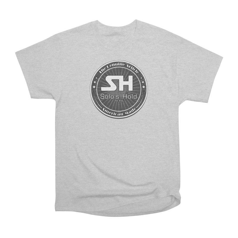 American Made Women's Heavyweight Unisex T-Shirt by SolosHold's Artist Shop