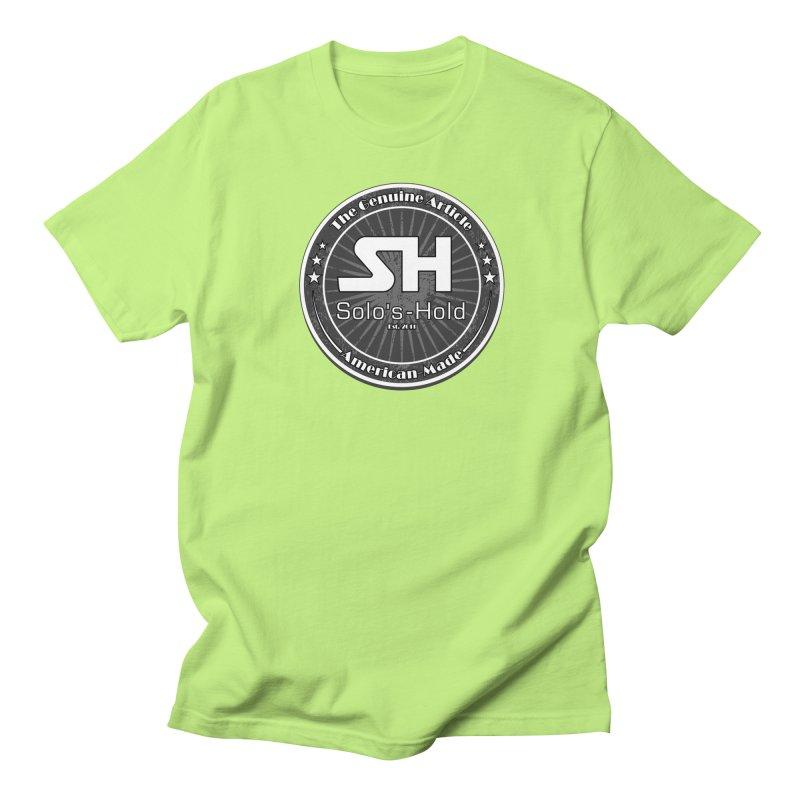 American Made Women's Regular Unisex T-Shirt by SolosHold's Artist Shop