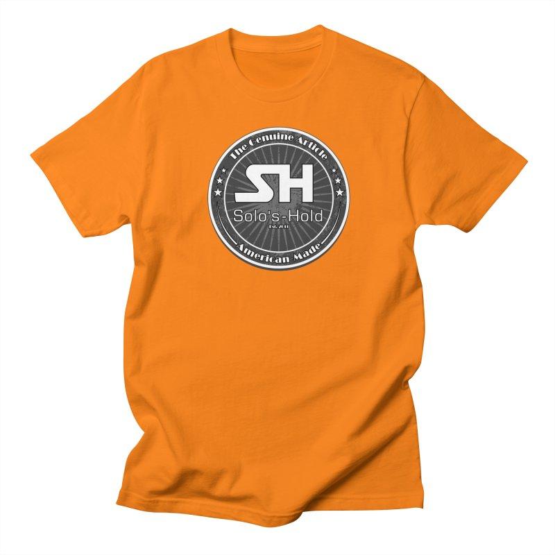 American Made Men's Regular T-Shirt by SolosHold's Artist Shop