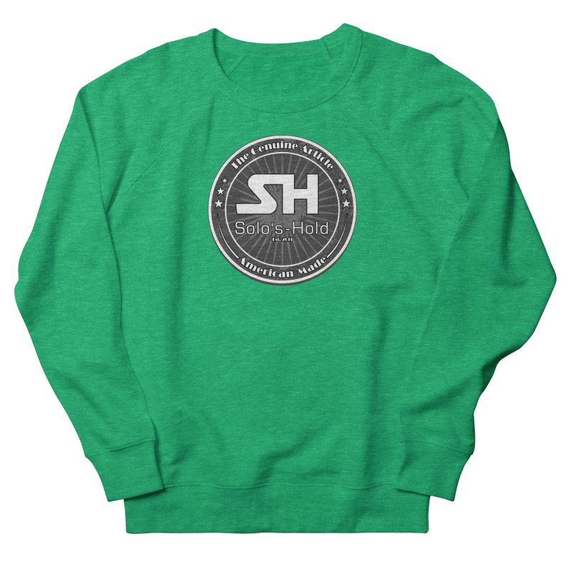 American Made Women's French Terry Sweatshirt by SolosHold's Artist Shop