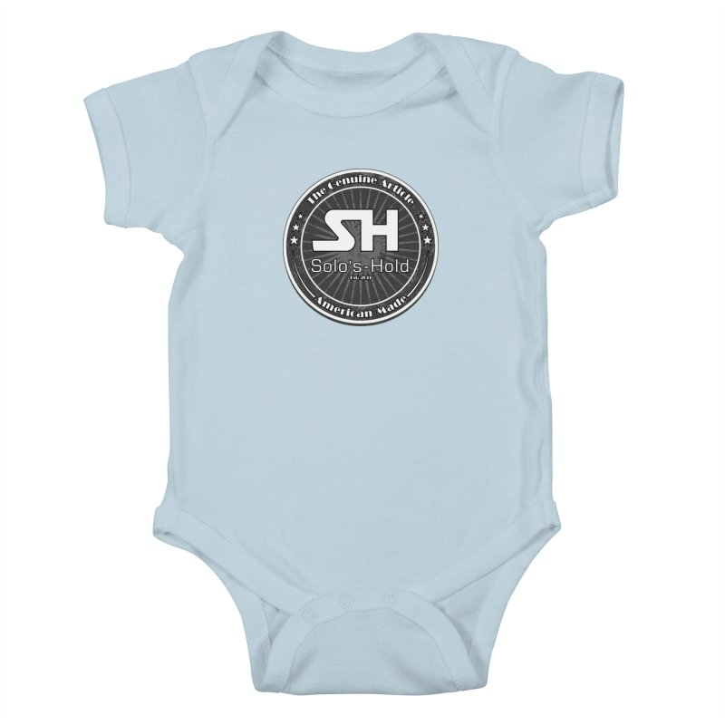 American Made Kids Baby Bodysuit by SolosHold's Artist Shop