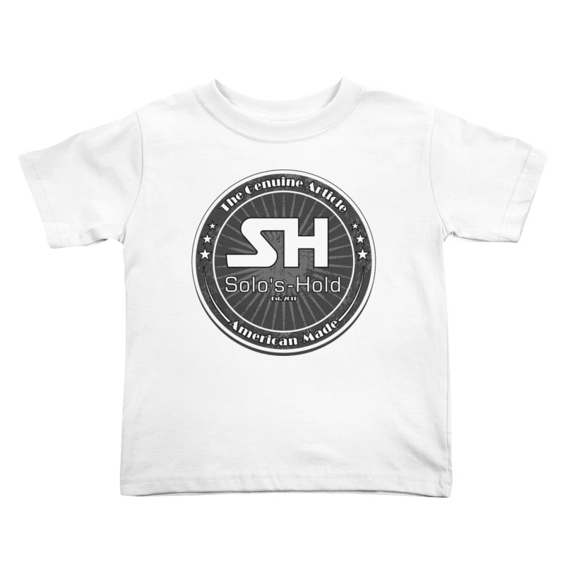American Made Kids Toddler T-Shirt by SolosHold's Artist Shop
