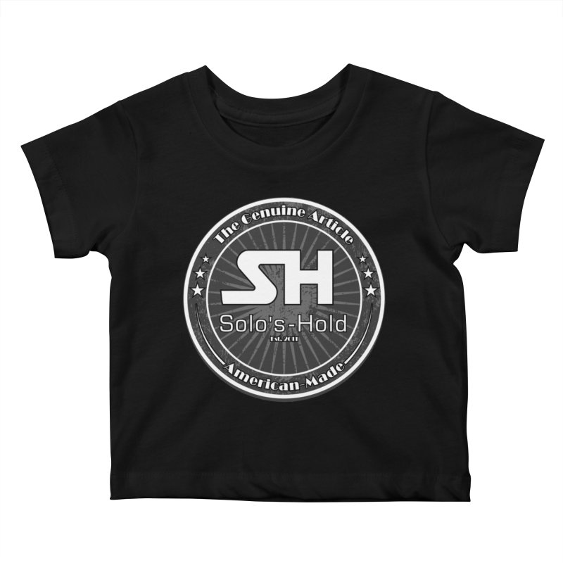 American Made Kids Baby T-Shirt by SolosHold's Artist Shop