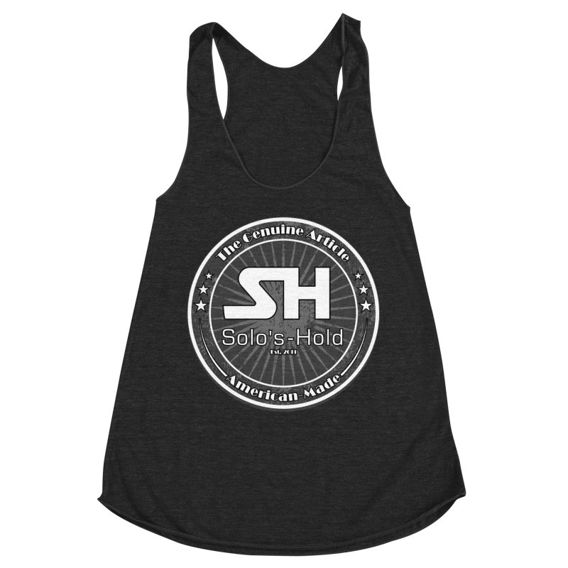 American Made Women's Racerback Triblend Tank by SolosHold's Artist Shop