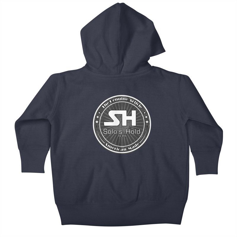 American Made Kids Baby Zip-Up Hoody by SolosHold's Artist Shop