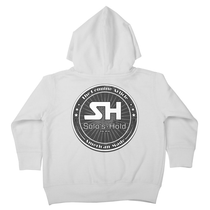American Made Kids Toddler Zip-Up Hoody by SolosHold's Artist Shop