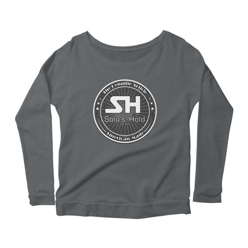 American Made Women's Scoop Neck Longsleeve T-Shirt by SolosHold's Artist Shop
