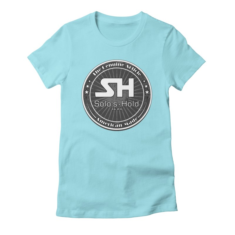 American Made Women's Fitted T-Shirt by SolosHold's Artist Shop