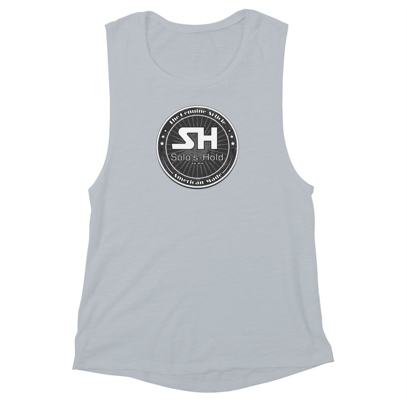 American Made Women's Muscle Tank by SolosHold's Artist Shop